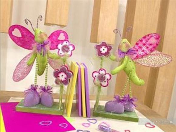 Игрушки своими руками бабочка