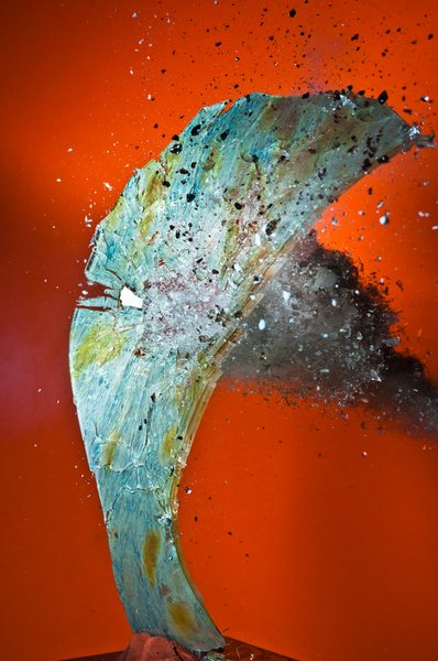 Момент удара на фотографиях Алана Сайлера
