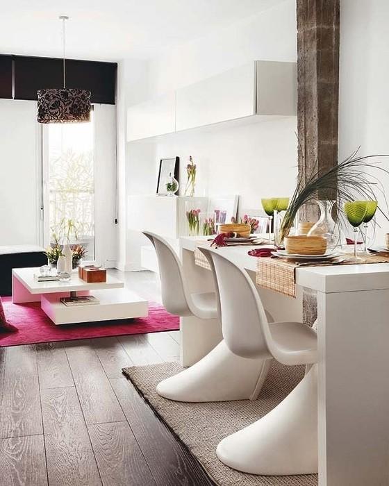 Интерьеры квартир 2011 - двухуровневая квартира в Мадриде 2 (560x700, 95Kb)
