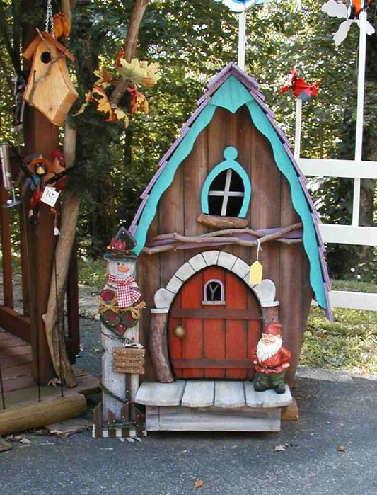 Как сделать сказочный домик для ребенка