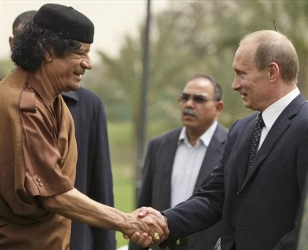 Путин и Каддафи (610x496, 31Kb)