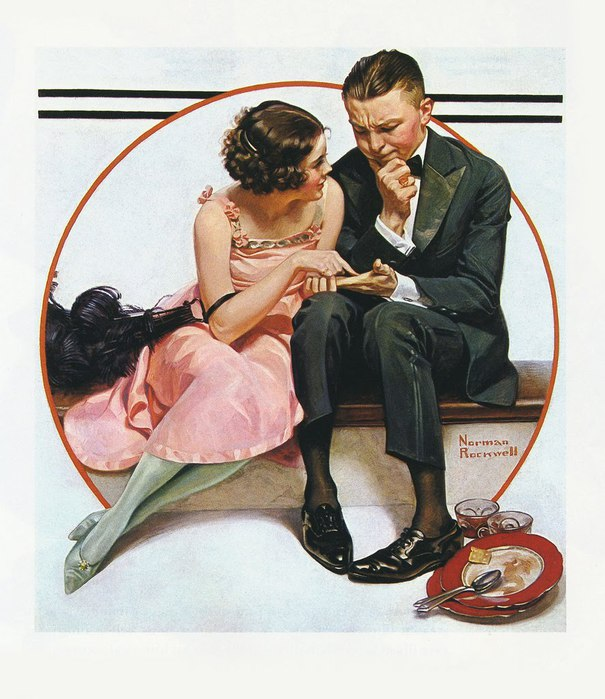 Norman ROCKWELL Fortune Teller 1921 (605x700, 91Kb)