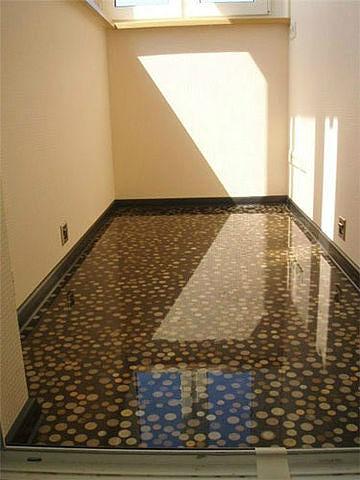 Наливные полы в квартире.