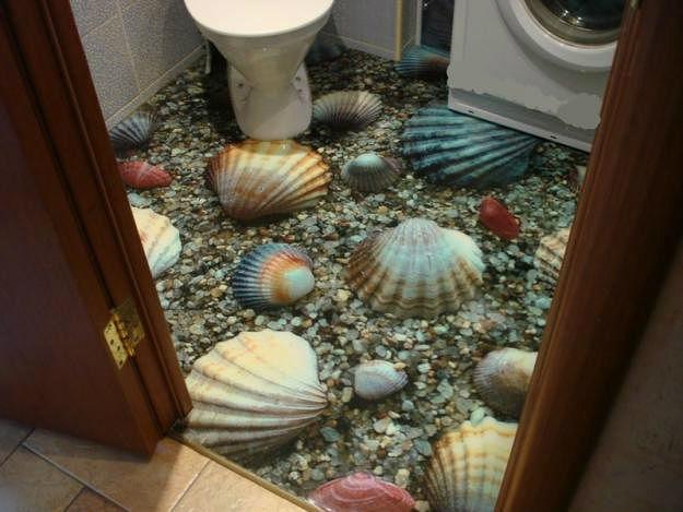 Наливные полы с эффектом 3D, декоративные наливные полы, промышленные...