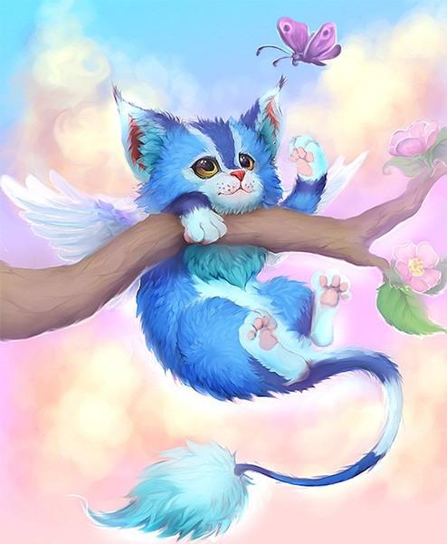 Картинки волшебных котов