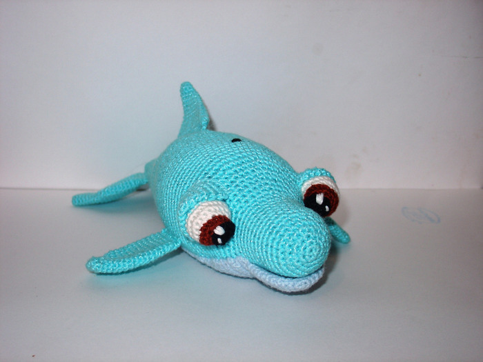 Метки: вязаные игрушки дельфин