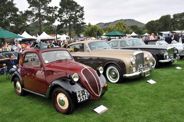 Самые дорогие авто в мире на выставке в Калифорнии