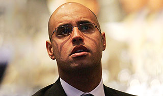 Про сына Каддафи Саиф аль-Ислама еще в феврале Запад передавал сообщение, что он примкнул к повстанцам.