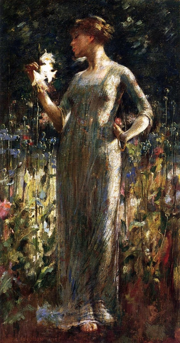 2382183_Alexander_John_White_A_Kings_Daughter_aka_Girl_with_Lilies (367x700, 254Kb)