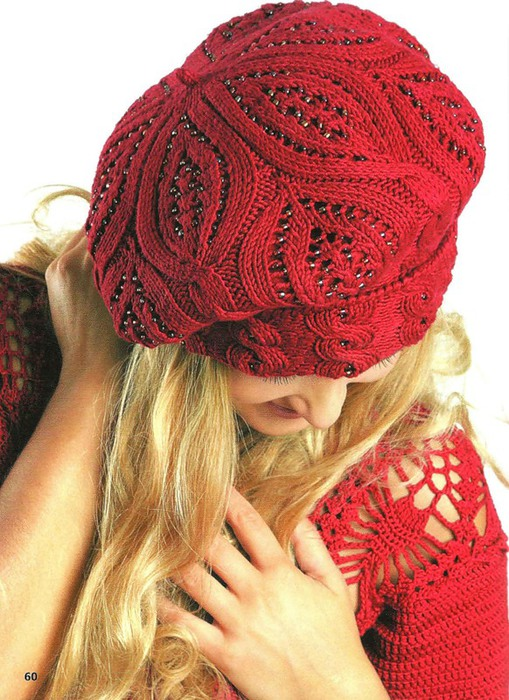 Beret Knit Hat Pattern Patterns Gallery