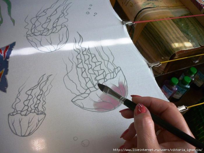 Как рисовать карандашом а потом красками