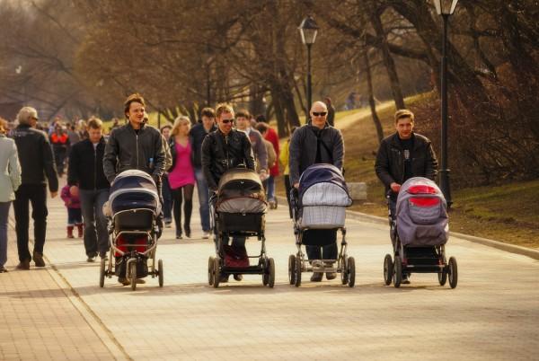 Папы с колясками