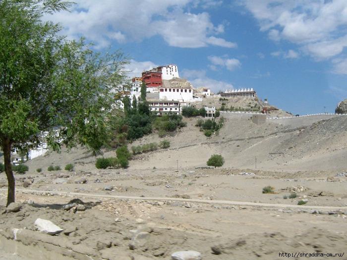 Индия, Ладакх, Лех, монастырь Thiksay, 3 (700x525, 285Kb)