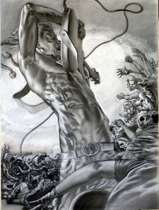 картины Николы Верлато