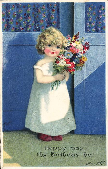 Ретро-открытки: С Днем Рождения: retro.cc/otkrytki/117-retro-otkrytki-s-dnem-rozhdeniya.html