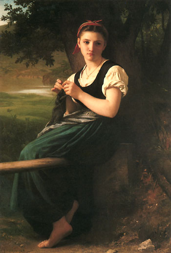 The_Knitting_Woman_painting_by_William-Adolphe_Bouguereau (1) (350x516, 35Kb)