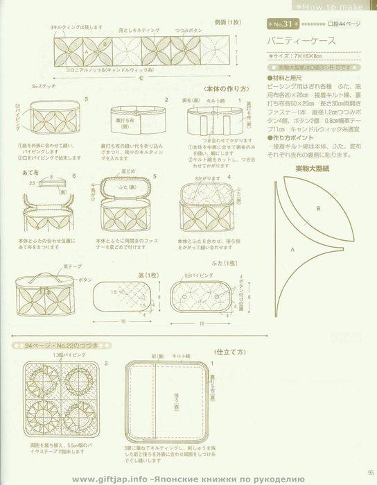 Рукоделие схемы выкройки