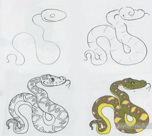 Схемы рисунков.