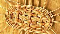 Плетение из ивовых лент