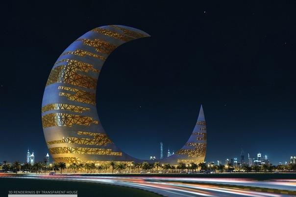 небоскрёб в Дубае (604x403, 55Kb)