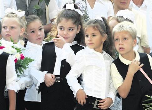 В Украине стало больше первоклассников