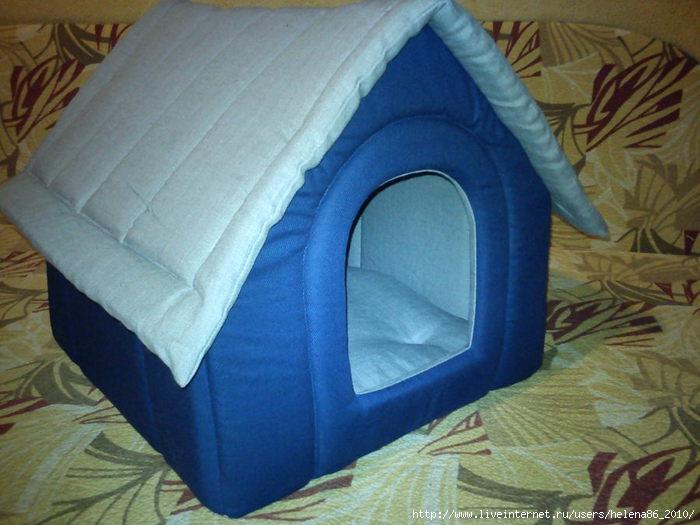 Сделать домик для маленькой собаки своими руками