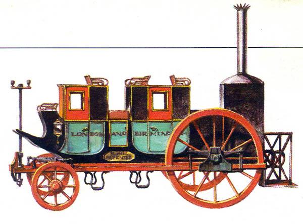 04 Паровая карета Хилла (1830) (Великобритания) (600x445, 76Kb)