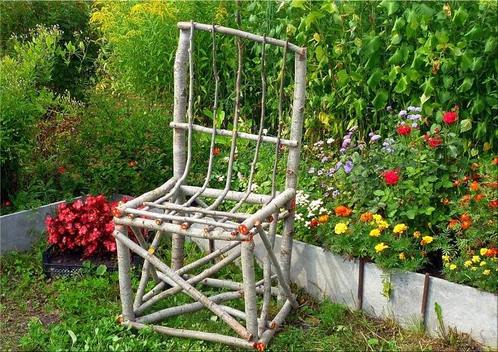 Плетеный забор из ивы своими руками