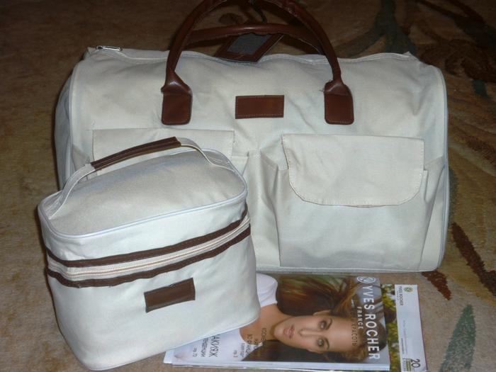 ...дорожная сумка Большая и вместительная, она станет незаменимой...