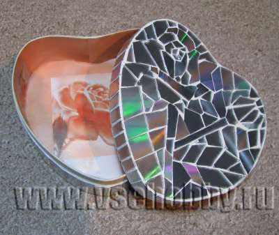 Шкатулка мозаика мастер класс пошаговый #8