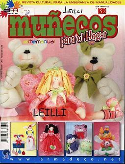 ARTE MANUAL N°32 - MUÑECOS  PARA EL HOGAR (255x335, 24Kb)