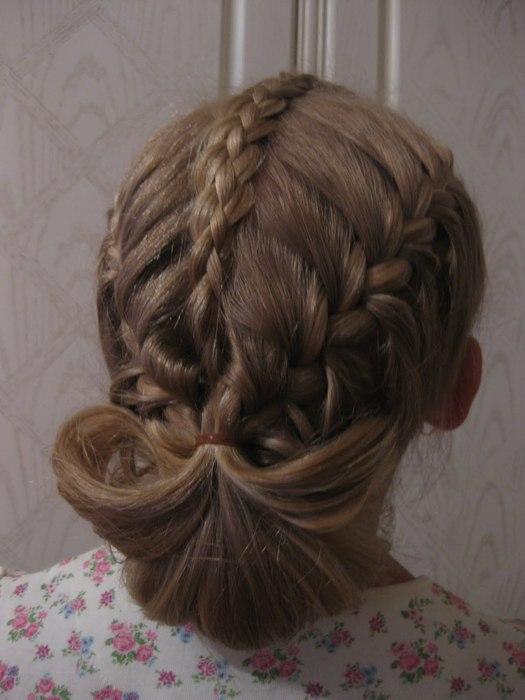 МК и идеи для причёсок,школьных,повседневных и праздничных.