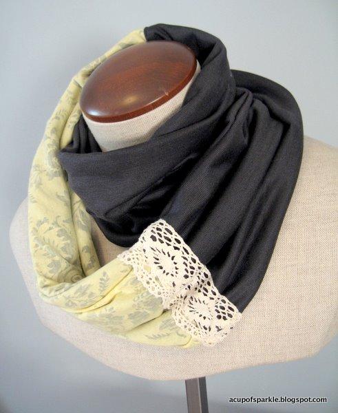 Как сшит шарф своими руками