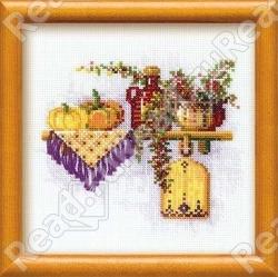 Product code (SKU). нитки:мулине Anchor цветов:18 размер:21*21 см канва:хлопок К5,5 белая буклет:цветная схема В...