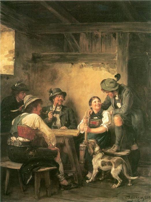 Franz von Defregger «Auf der Alm» (523x700, 335Kb)