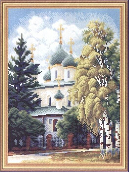 """НАБОРЫ ДЛЯ ВЫШИВАНИЯ Panna  """"Церковь """" ."""