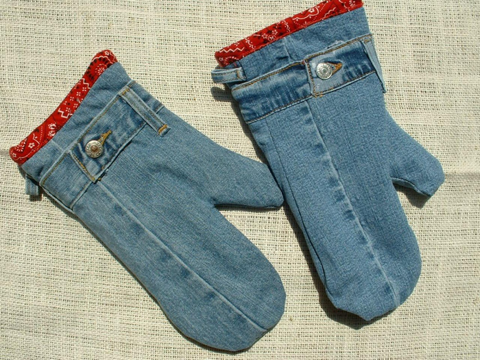 Поделки из ткани джинс своими руками фото