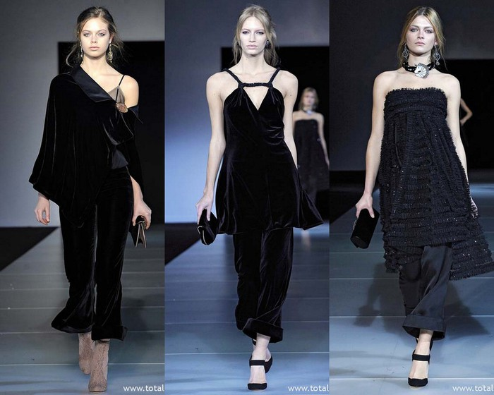 Завершилась Неделя моды в Милане.  Предлагаем посмотреть показ Giorgio...