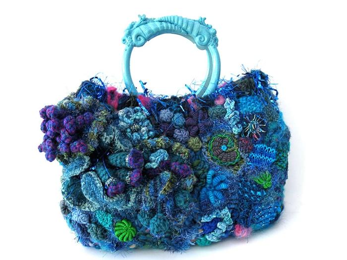 шарф-хомут вязание спицами - Сумки.