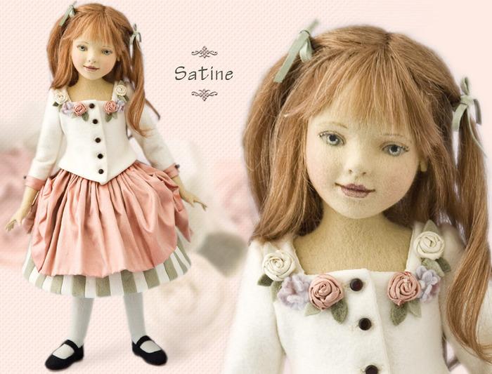 Лицо тряпичной куклы как сделать