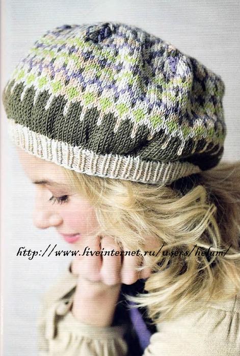Часть 1. Часть 2. Вязание спицами - жаккард, fair isle, bohus knitting.