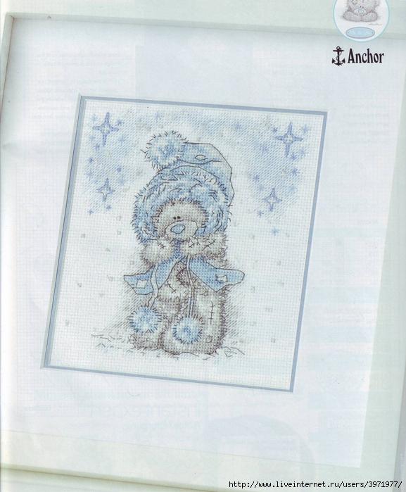 """Журнал  """"CrossStitcher """" 191.  Тедди зимой."""