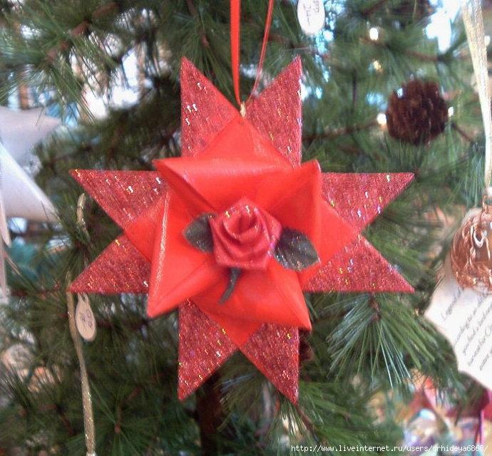 Новогодняя игрушка 30 см на елку