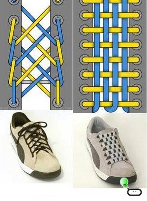 Вы умеете шнурки завязывать уверены