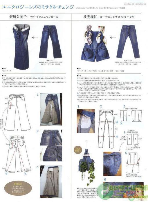 Из старых джинс платье своими руками