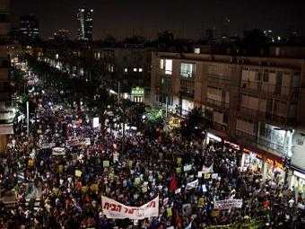 Протесты в Израиле (340x255, 17Kb)