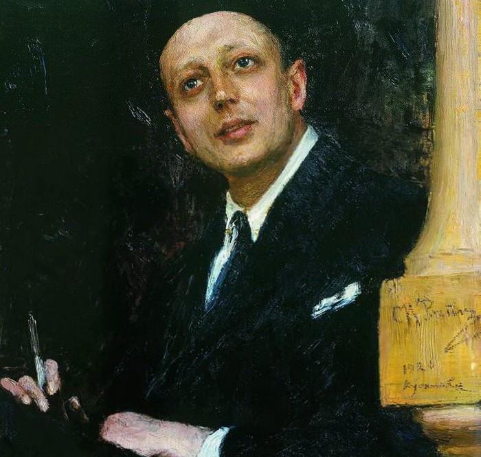 Портрет артиста г г ге 1895 портрет