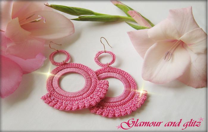 Розовые серьги (700x443, 107Kb)