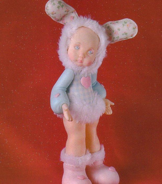 Холодный фарфор куклы своими руками мастер класс