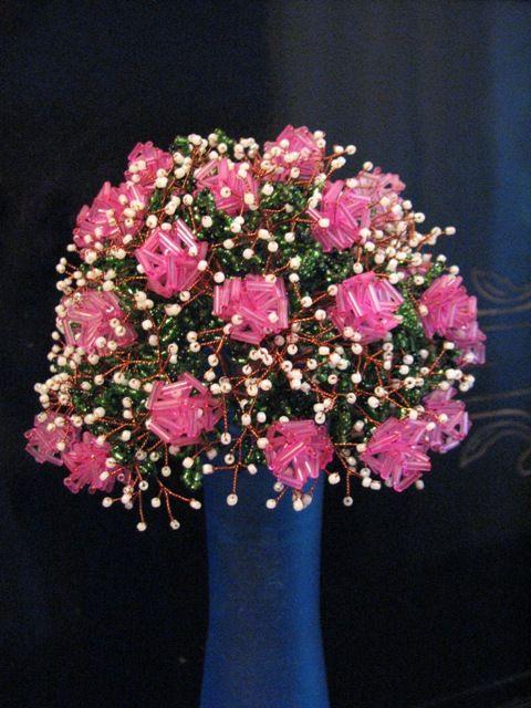 бисероплетение схемы цветы и деревья - Лучшие схемы и описания для.